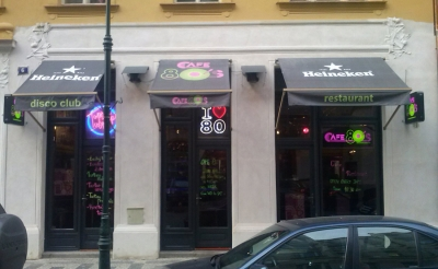 TANEČNÍ KLUB CAFÉ 80